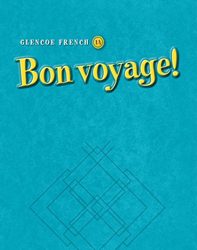 Bon voyage! Level 1A, Writing Activities Workbook (Glencoe French) (French Edition)