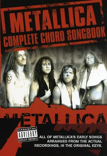 Metallica: Complete Chord Songbook - the Early Years