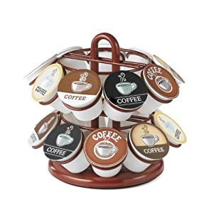 Nifty Mini Carousel for K-Cups, Red