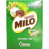ネスレ ミロ オリジナル Nestle MILO 1kg(500g×2袋)×12箱