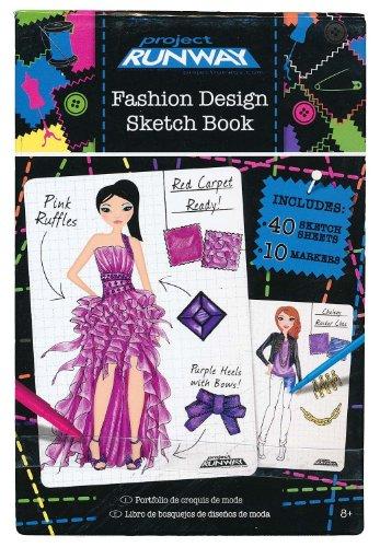 Project Runway Fashion Design Mini Sketch Book - 1