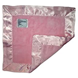 Lullaby Nights \'Plush\' Blanky Solid Pink