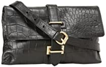 Foley + Corinna Simpatico 8801142 Cross Body,Black Croc,One Size