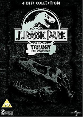 Jurassic Park Trilogy Film Collection (Steelbook) [DVD] by Richard Attenborough
