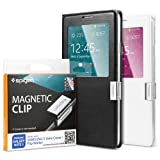 Spigen Samsung Galaxy Note 3 / Galaxy S5 Flip Cover [Magnetic Clip] Magnetic Holder for Samsung S View Cover / Flip Cover for Samsung Galaxy S5 & Samsung Galaxy Note III**Cover is not included** - Magnetic Clip (SGP10688)