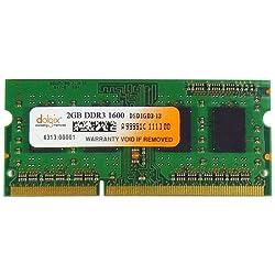 Dolgix 2 GB DDR3 - 1600 MHz RAM, Memory module for Laptop