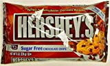 Hershey's 8 oz Bag of Sugar Free Chocolate Chips,