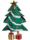 Christmas Tree with Shoe Boxes Adult Costume Size L/XL Picture