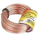 Hama 30720 Lautsprecher-Kabel 2x 0,75mm 5m