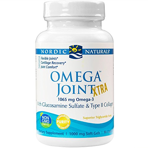 Nordic Naturals - Omega Joint Xtra, With Glucosamine Sulfate & Type II Collagen, 90 Soft Gels (Nordic Naturals Extra Dha compare prices)