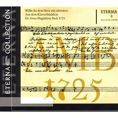 Bach: Klavierb�chlein f�r Anna Magdalena Bach 1725