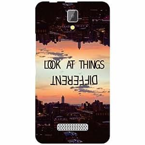 Lenovo A2010 Printed Mobile Back Cover