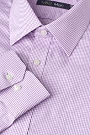 Dri-Guard Pure Cotton Classic Collar Checked Shirt [T11-5543-S]