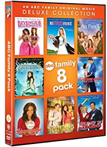 ABC Family 8 Pack (Revenge Bridesmaids, Fake Fiance, Au Pair 3, Cutting Edge, Handcuffs, Future Boyfriend, SnowGlobe, Princess)