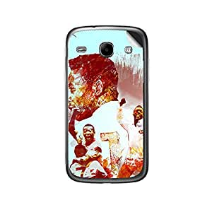 ezyPRNT Samsung Galaxy Core i8262 Pele Football Player mobile skin sticker