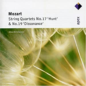 Mozart : String Quartets Nos 17, 'Hunt' & 19, 'Dissonance'