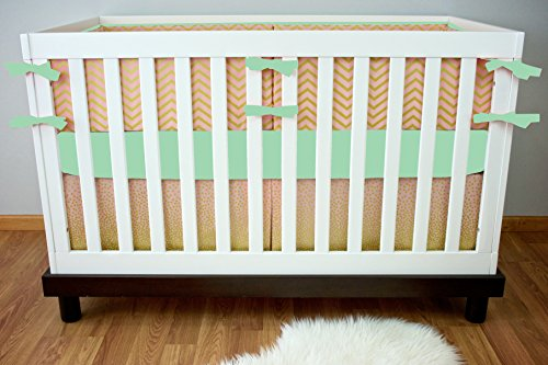 Modified Tot Crib Bedding, Sparkles