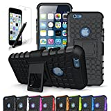 iPhone 6S Case / iPhone 6 Case, CINEYO heavy Duty Rugged Dual Layer Case with kickstand (Apple iPhone 6S Case / iPhone 6 Case - 4.7