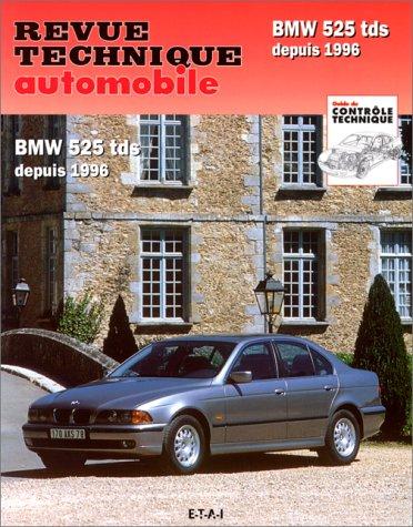 revue technique automobile n 594 bmw 525 tds depuis 1996. Black Bedroom Furniture Sets. Home Design Ideas