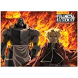Great Eastern Entertainment FMA Brotherhood Fire Wall Scroll, 33 by 44-Inch