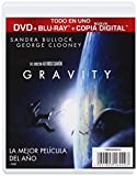 Image de Gravity (Bd + Dvd + Copia Digital) (Blu-Ray) (Import Movie) (European Format - Zone B2) (2014) Sandra Bullock;