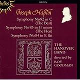 Haydn : Symphonies n° 82, 83, 84