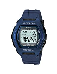 Casio Analogue-Digital Blue Dial Men's Watch - HDD-600C-2AVDF