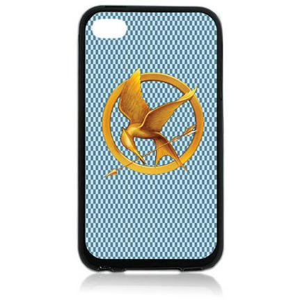 THE Hunger Game TPU Rubber Plus Hard Case Cover Skin for Ipod Touch 4 4th Generation - Free Plastic Retail Packaging Box
