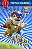 img - for Rubble to the Rescue! (Paw Patrol) (Step into Reading) book / textbook / text book