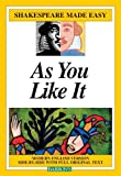Image of As You Like It (Shakespeare Made Easy)