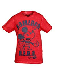 KIDS rilancio T-shirt Disney Homerun Eroe rosso