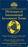 Dictionary of International Investment Terms (Barrons Business Guides)