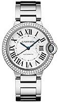 Cartier Ballon Bleu Medium 18k White Gold Watch WE9006Z3 by Cartier