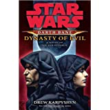 """Dynasty of Evil: Star Wars (Darth Bane): A Novel of the Old Republic (Hardcover)By Drew Karpyshyn        55 used and new from $4.47    Customer Rating:     First tagged """"darth"""" by The Amazonatronator """"Product Overlord"""""""