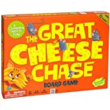 Peaceable Kingdom / The Great Cheese Chase Award Winning Cooperative Game for Kids