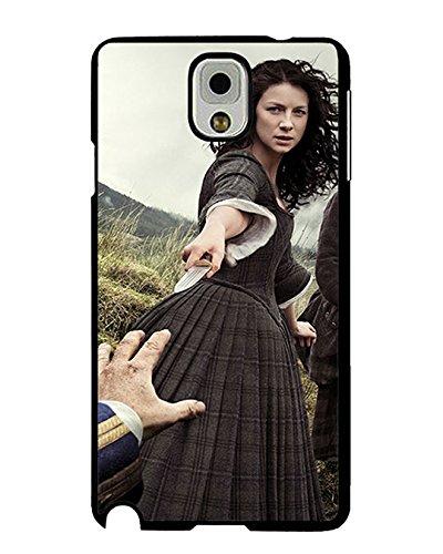 Vintage Outlander Season 1 Samsung Galaxy Note 3 Cell Phone Hard della cassa, TV Shows Outlander Season 1 Note 3 Custodia Anti-polvere Designed with Outlander Season 1 Note 3 Protective Custodia