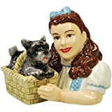 Westland Giftware The Wizard Of Oz Magnetic Dorothy And Toto Salt And Pepper Shaker Set, 3-1/4-Inch