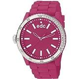 edc by Esprit Damen-Armbanduhr rubber starlet Analog Quarz Plastik EE100922012