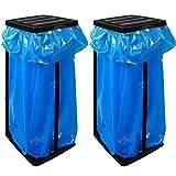 2 Müllsackständer für Müllsäcke Müllbeutelständer bis max. 60 LITER -