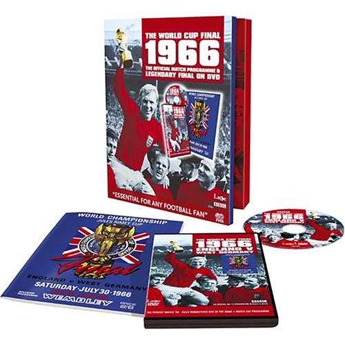 Perfect Match 1966 World Cup  (Match DVD & Official Programme)