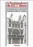 echange, troc Peter Haiko - L'Architecture du XXième siècle