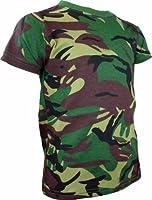 Highlander DPM Camo Army Camouflage Mens T-Shirt