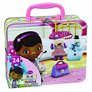 Disney 24pc Doc McStuffins Puzzle in Tin Lunch Box