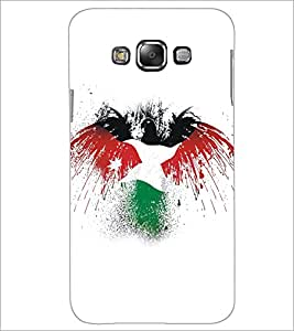 PrintDhaba Piegon D-5163 Back Case Cover for SAMSUNG GALAXY A7 (Multi-Coloured)