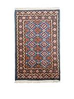 Navaei & Co. Alfombra Kashmir Azul/Multicolor 128 x 74 cm