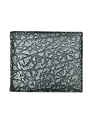 Hawai Ash Colored Texture Wallet For Men