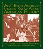 img - for What Every Amercian Should Know about American History: 200 Events That Shaped the Nation (What Every American Should Know about American History) book / textbook / text book