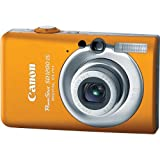 Canon PowerShot SD1200IS 10 MP Digital Camera with 3x Optical Image Stabilized Zoom and 2.5-inch LCD (Orange)