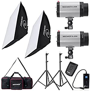 Neewer 500W Studio Flash Strobe Light Lighting Kit