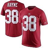 Men's San Francisco 49ers Jarryd Hayne Nike Scarlet Player Pride Name & Number T-Shirt (Large)